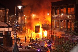 Londres disturbios videos